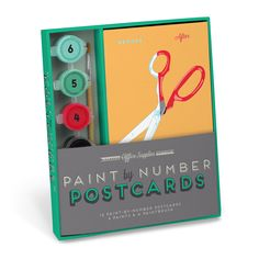 Knock Knock Office Supplies Paint-by-Number Postcards Kit are paint by number for adults! Knock Knock Notes, Cool Stationery, Cool Office Supplies, Office Paint, Tween Gifts, Diy Gifts, Vintage Office, Paint By Number, Creative Kids