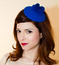 "Ciao Nina Felt Wave Fascinator, featured on ""Gossip Girl"" (Photo courtesy of Ciao Nina)"