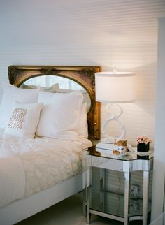 all white bedroom // coco kelley
