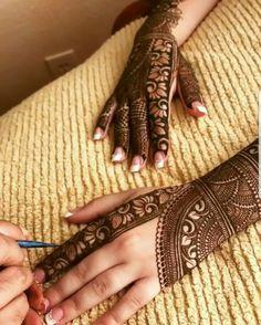 mehedi Brownie brownies q salatiga Khafif Mehndi Design, Indian Mehndi Designs, Henna Art Designs, Mehndi Designs For Girls, Modern Mehndi Designs, Mehndi Design Pictures, Wedding Mehndi Designs, Mehndi Designs For Fingers, Latest Mehndi Designs