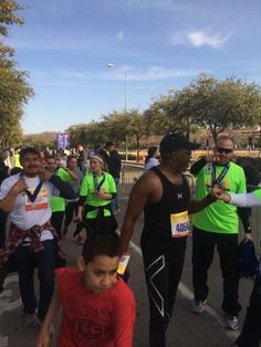 Runners at the Dallas Mayor's Race