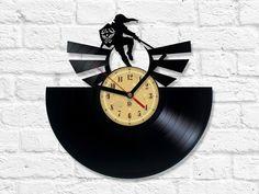 Vinyl Record Clock - The Legend of Zelda Vinyl Record Clock, Vinyl Records, Record Crafts, Shops, The Legend Of Zelda, Used Vinyl, Quartz Clock Mechanism, Etsy, Music