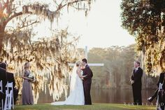 Ceremony on the bluff at Wachesaw Plantation, Murrells Inlet