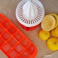 Πως θα φυλάξουμε λεμόνι και ντομάτα στην κατάψυξη Cube, Breakfast, Food, Morning Coffee, Essen, Meals, Yemek, Eten