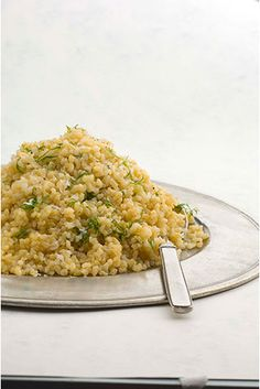 Pilaf is a style of cooking where every grain of rice remains separate. For this to happen the rice is well washed to remove any starch, though with brown rice this begins to soften the tough outer bran layer. This rice is often tossed in hot oil and then cooked very slowly to that the rice absorbs all the liquid. The cooking process is completed with standing time before the lid is lifted to ensure the rice becomes light and fluffy. Occasionally a cloth is placed between the lid and the…