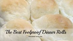 These quick and east dinner rolls are simply amazing! Foolproof recipe that can be made in your bread machine or by hand. Fluffy Dinner Rolls, Homemade Rolls, Holiday Dinner, The Best, Vegetarian, Bread, Meals, Baking, Recipes