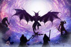 Heroes of Sovngarde - Skyrim by IceDragonhawk