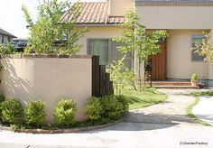 施工例101 Maine, Exterior, Interior Design, Plants, House, Japanese, Home Decor, Garden, Nest Design