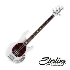 Sterling by MusicMan Ray34 Bass - Transparent White Blonde