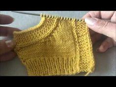 Baby Knitting Patterns, Knitting Stitches, Hand Knitting, Stitch Patterns, Knitted Baby Clothes, Knitting Videos, Fingerless Gloves, Arm Warmers, Brick Stitch