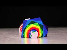 トクマルシューゴ - Katachi  Amazing amazing colorful stop motion with lots of paper silhouettes!