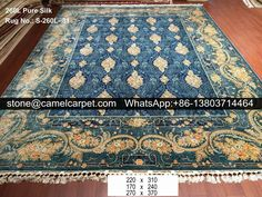 260L pure silk carpet  #carpet#rug#persiancarpet#persianrug