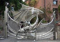 A dragon gate fit for House Targaryen
