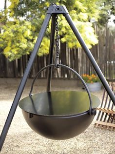 Cowboy Cauldron Fire Pit and Grill