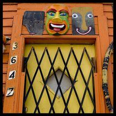 Welcome    Part of artist Tim Burke's house near The Heidelberg Project Detroit, MI.