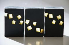 BLACK ICE with mango butter, cold process soap, woodland and lavender scent for man, vegan. $5.80, via Etsy.