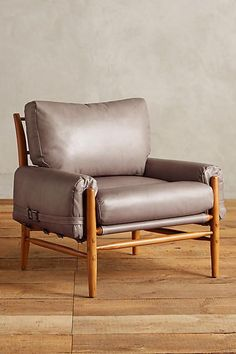 Check out this must-have Anthropologie Leather Rhys Chair we just cannot resist!