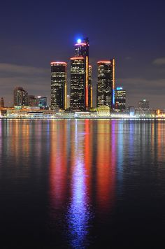 Detroit City:  Taken in Windsor Ont. Canada..... Lived there.... Honestly never seen the big D in this light.