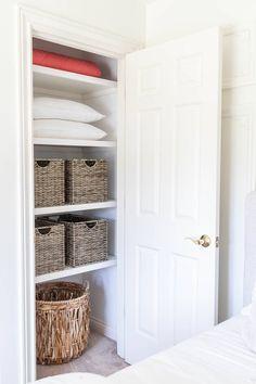 Guest Bedroom Closet Makeover - Closet Renovation