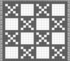 This pattern, known as Fox and Geese in the US/Canada, has been used in many variations around the world (examples shown at link)
