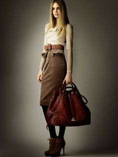 Collection Burberry Pre-fall 2012 ©Burberry