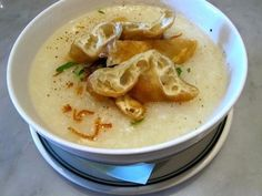 How to Survive Being Sick at Home in SF with soups like Out the Door's Chicken Porridge