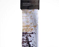 Custom Black / Gold Droplets Nike Dri-Fit Head Tie Headband - Grey, White, Yellow, Pink, Green, Blue, Purple, Orange
