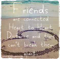 Friends are important