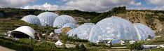 The Eden Project, Cornwall, United Kingdom, Buckminister Fuller