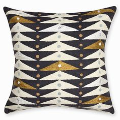 Explore throw pillows and accent pillows from Jonathan Adler. Modern needlepoint, woven letter, patterned and embellished decorating pillows in a variety of colors and textures.