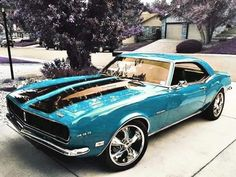 Old Muscle Cars, Custom Muscle Cars, Chevy Muscle Cars, Custom Cars, Old American Cars, American Muscle Cars, Sexy Cars, Hot Cars, Camaro Chevy
