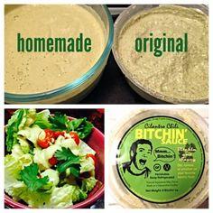Cilantro-Chili Bitchin' Sauce/Salad Dressing, No-Oil by Happy Healthy Long Life