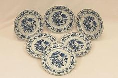 Set of 6 Blue Danube 9\  Breakfast Plate Blue Onion Pattern Made in Japan  sc 1 st  Pinterest & Set of 4 Royal Song #5442 \