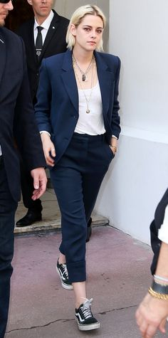 Kristen Stewart in Sneakers at Cannes Film Festival | InStyle.com