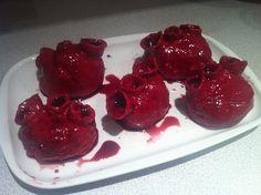 Red Velvet Bleeding Heart Cupcakes by Don't Call Me Cupcake, via ...