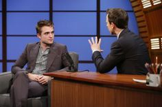 Rob on Late Night with Seth Myers, 6-17-14 (16)