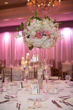 Pink and White Wedding  By Intertwined Events