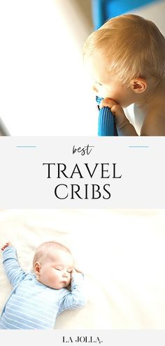 A list of top-rated travel cribs for babies and toddlers that parents love for ease of use, portability, safety, and affordability. Shop the best crib for your travels at La Jolla Mom Toddler Travel, Travel With Kids, Family Travel, Baby Dome, Baby Tent, Flying With Kids, Rock You Baby, Best Crib, Portable Crib