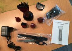 Wawoo® - Multigroom-Set 5 in 1 Harrschneider   Harrtrimmer   Nasenhaartrimmer   Bartschneider   Detailrasierer   Kammaufsatz Haarschneidemaschine
