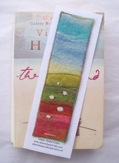 felt bookmark by Aileen Clarke by regina