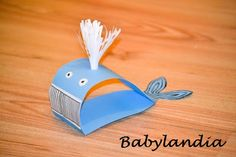 Papierowy wieloryb :)