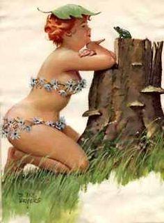 Wall Art Print- Art Reproduction Vintage Sexy Pin-up Girl Vintage Sexy Plus-size Pin-up Girl Duane Bryers Hilda Print 8 x 10 Pin Up Vintage, Arte Pin Up, Pin Up Art, Pinup, Curvy Pin Up, Sexy Pin Up Girls, Prince Charmant, Dita Von Teese, Silhouette