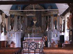 Choeur de la chapelle de Sauchay-le-Haut (76)