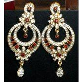 36garhiart-maroon-gold-earrings
