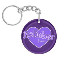 Belieber Forever Key Chain - Justin Bieber