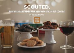 Scouted. What Beers and Wines Pair Best With Girl Scout Cookies?