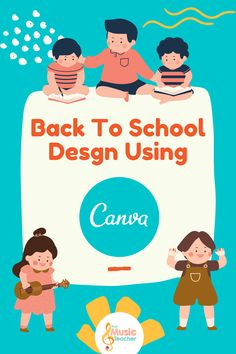 If you haven't heard of Canva before I promise this is a tool, much like markers, flair pens, and magic tape, that you will wonder how you lived without. Canva is a design website that helps you create amazing designs with ease. You can create so many things for your classroom using Canva, and we'll tell you how you can get premium for FREE! #Canva #Design #Remote #Education #Teachers #Music Music Teachers, Music Classroom, Music Education, Bachelor Of Education, School Information, Music Activities, Elementary Music, Student Teaching, School Design