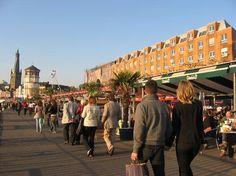 Rheinuferpromenade, Dusseldorf, Germany. xo