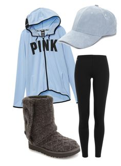"""""""Untitled #206"""" by hockey85fan ❤ liked on Polyvore featuring Victoria's Secret, Collection XIIX, Polo Ralph Lauren and UGG"""