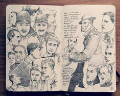 1.2 Sketchbook 2014 by Jared Muralt Bern, Switzerland | Drawing |  Fine Arts | Illustration | Sketchbook | Sketch | Pen | Pencil | Draw |